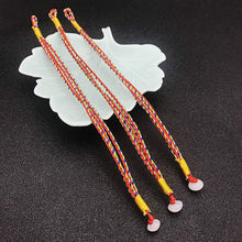 1 Pcs Sell Hand-woven Hologram Bracelets Color Rope Red String Bracelet Men and Women Lucky for Hand Catenary(China)
