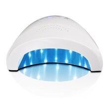 ZKO 1Pc 24/48W UV Lamp Nail Polish Dryer LED White Light 5S 30S 60S Drying Fingernail&Toenail Gel Curing Nail Art Dryer Nails