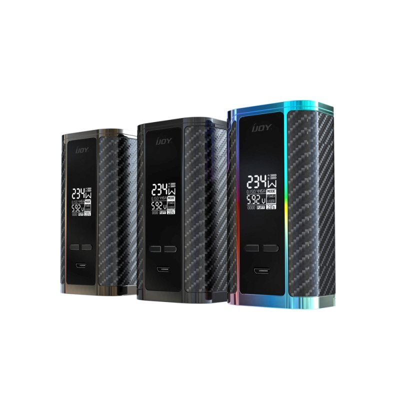 100% Authentic IJOY Captain PD270 TC BOX MOD with Dual 20700 Battery 6000mAh  E-cigarette Vapor 234W Box Body B04 VS Alien Kit original 225w ijoy captain tc kit 2 6ml rdta 5s atomizer tank w ijoy captain pd1865 box mod kit no 18650 battery vs alien