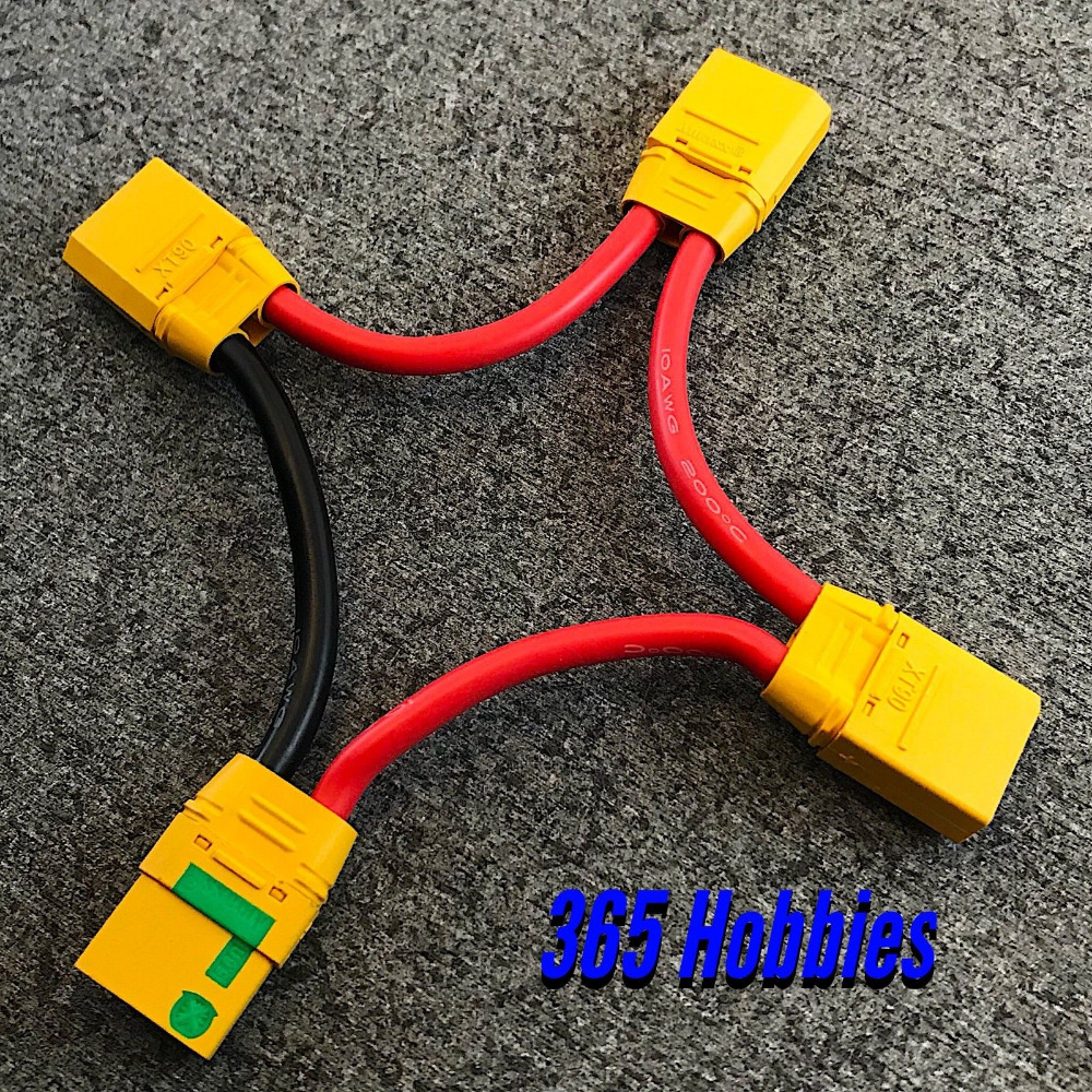 Xt90 1f3m Parallel 3 In 1 Connector Cable Wire Harness Dji Phantom Wiring Battery 10awg Connectors From Lights Lighting On Alibaba Group