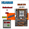 HUANAN Golden Deluxe Version X79 Gaming Motherboard For Intel LGA 2011 ATX Combos E5 1650 C2