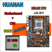 HUANAN Golden Deluxe Version X79 Gaming Motherboard For Intel LGA 2011 ATX Combos E5 1650 C2