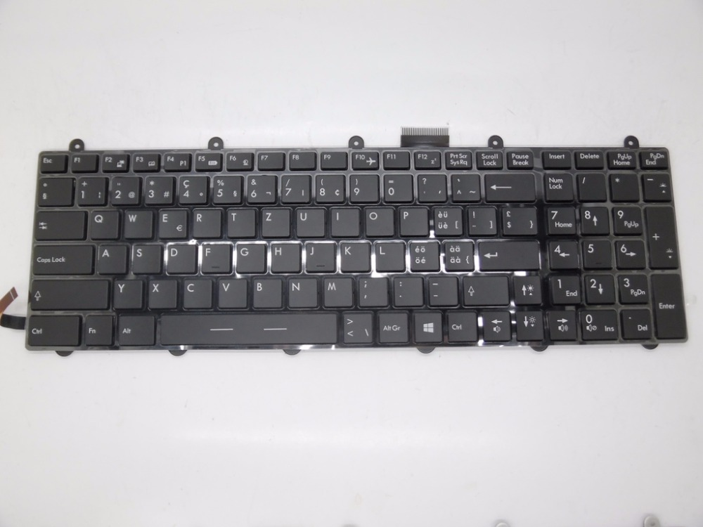 Laptop Keyboard For MSI GT60 V123322DK1 GR S1N-3EDE2F1-SA0 V123322KK1 SW S1N-3ECH2J1-SA0 TR S1N-3ETR2L1-SA0 V139922AK1V123322EK1 new laptop keyboard for medion md98068 md98081 md98083 md98099 md98101 md98102md981895 md98231 md98232 md98233 sw switzerland