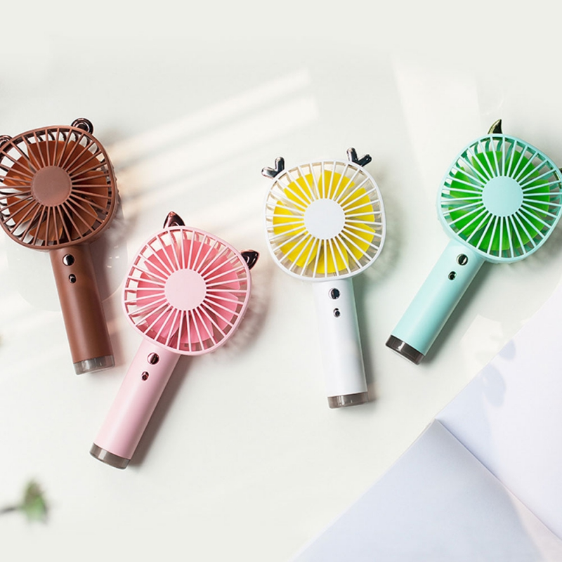 USB Fans Rechargeable Small Portable Personal Fan Foldable