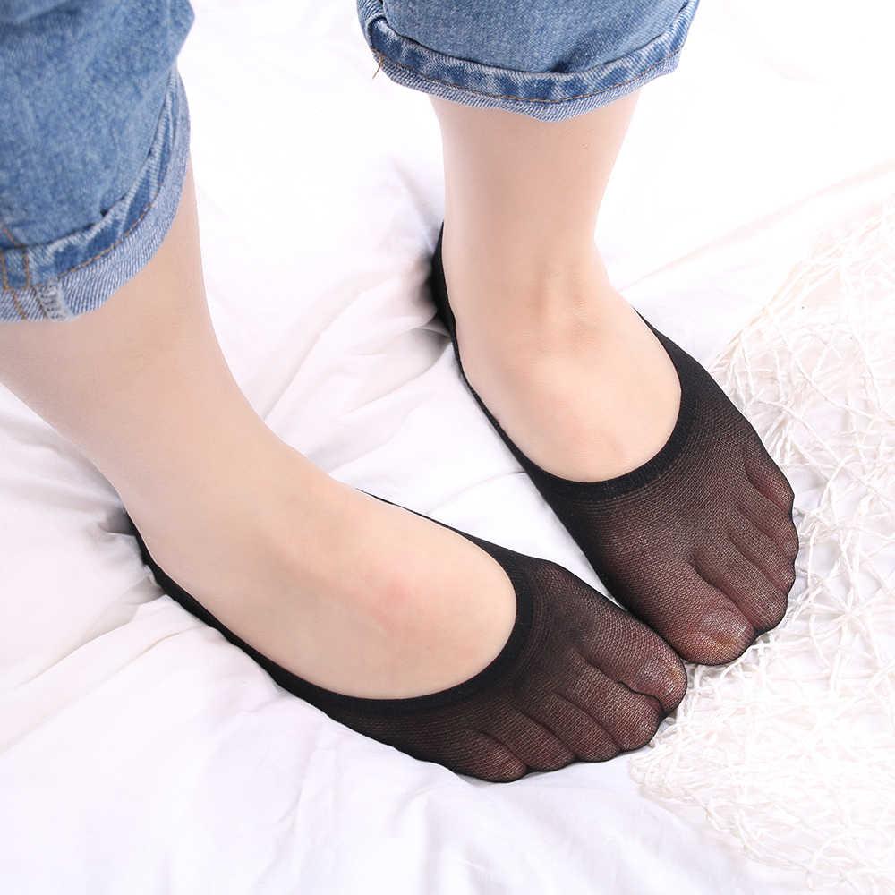 4 style moda kobiety skarpety letnia pani bawełna koronki krótkie kostki kobiet przeciwpoślizgowe niewidzialna wkładka nie pokaż skarpetki stopki skarpetki damskie