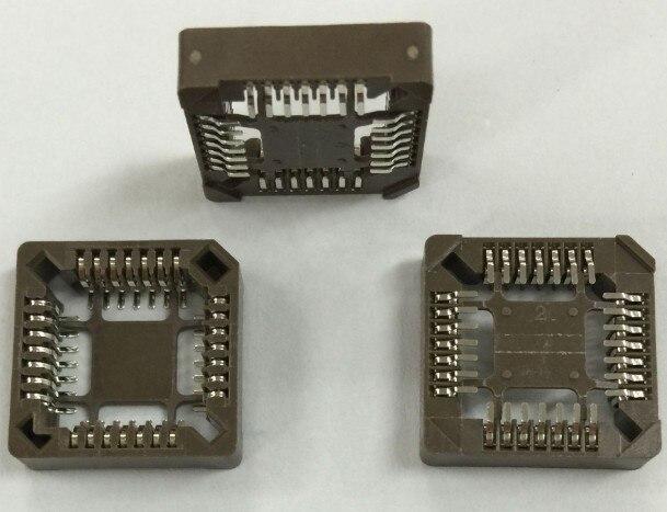 5Pcs PLCC28 28 Pin DIP Socket Adapter PLCC Converter