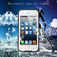 For Apple IPod Touch 6 Waterproof Case RedPepper Ultra Slim Cover For Touch6 Water Dirt Diving