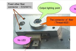 Image 3 - Camera Nội Soi Đèn Led Ống Kính Và Nối, Thích Hợp Cho Phlatlight LED Cbt90 Cbt140