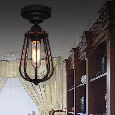 Loft Retro Style Edison  Industrial Lamp Vintage Ceiling Light For Indoor Home Lighting Fixtures,Luminarias Para Sala iwhd loft style creative retro wheels droplight edison industrial vintage pendant light fixtures iron led hanging lamp lighting
