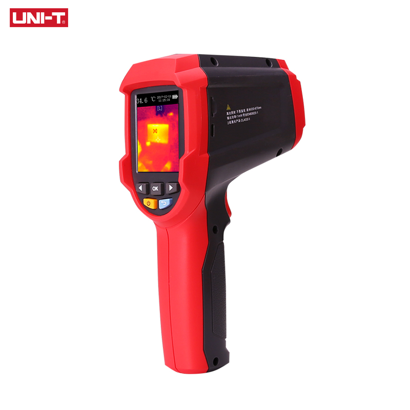 UNI-T Thermal Imaging Camera With SD Card Slot And USB Interface 4