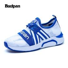 b94c75ec8f0 BEEDPAN malla zapatillas para niños niñas transpirable deslizamiento en  zapatillas moda flexibilidad cómodo Casual zapatos de