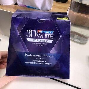Image 5 - 3D לבן Whitestrips לוקס מקצועי אפקטים היגיינת פה טיפול שיניים לבן הלבנת 20 שקיות 1 תיבת שיניים הלבנת רצועות
