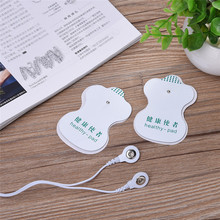 10 pcs/set White Electrode Pads For Tens Acupuncture Digital Therapy Machine Massager Tools health care Massage Relaxation tool