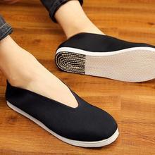 Хлопковые тапки ручной работы tai chi taiji zen lay shaolin monk kung fu обувь ушу цигун боевые искусства обувь черного цвета