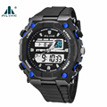 Military Men Sport Watches Alike Russian Style Fahion Date Shock Rubber Men's Digital Watch 12/24 Hour Display Water Resistance