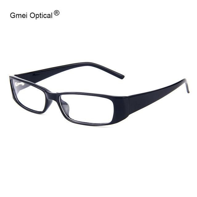 Laconic Classic Medium Size Rectangle Plastic Full Rim Men\'s Optical ...