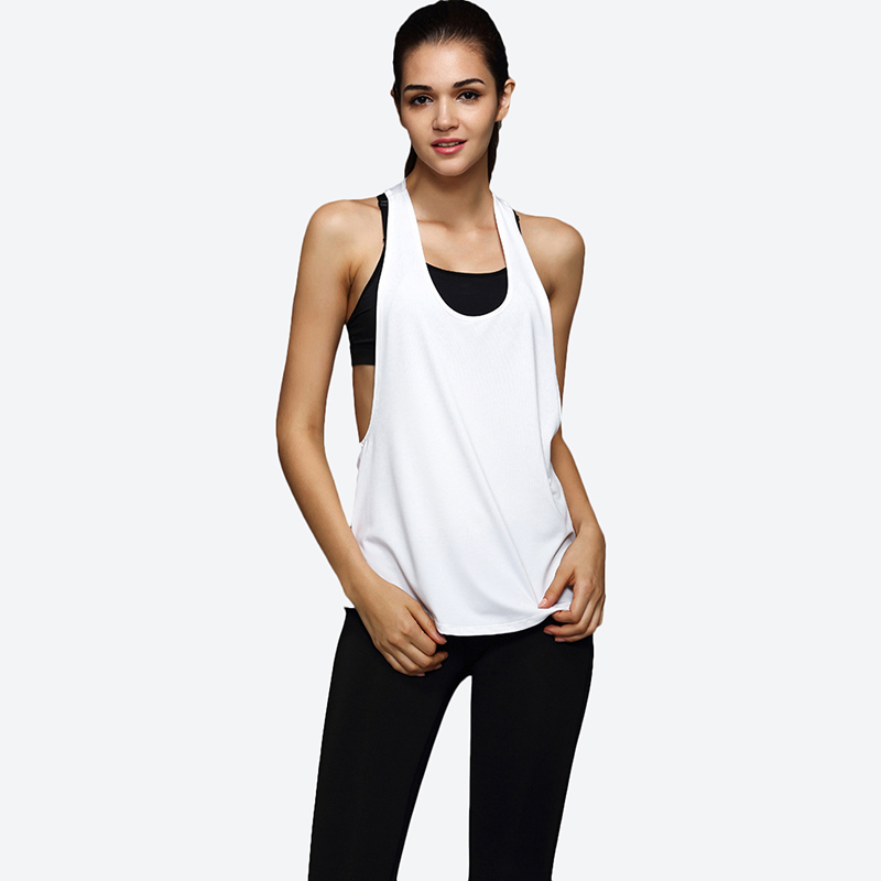 Yoga Sleeveless & Backless Crop Top For Women