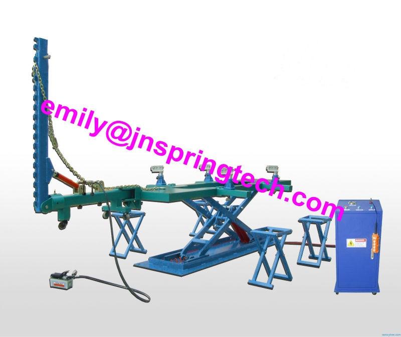 sp v8 car straightening frame machinecar body repair benchcar frame machine