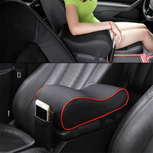 Universal Leather Car Armrest Pad Auto Armrests Center Console Arm Rest Seat Box Vehicle Protective Styling Decoration