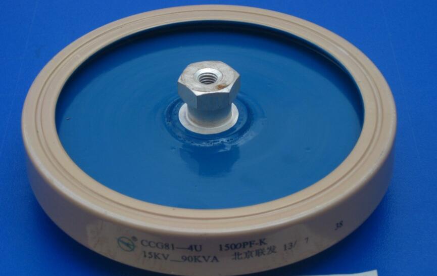 Round ceramics Porcelain high frequency machine new original high voltage CCG81-4U 1500PF-K 15KV 90KVA ccg81 1 350pf 15kv 60kva