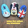 Baby Shoes Infant Toddler Bebe Boy Girl Winter Prewalkers Pink Baby Moccasins Cotton I love Mama Papa Newborn Shoes 2-18 months