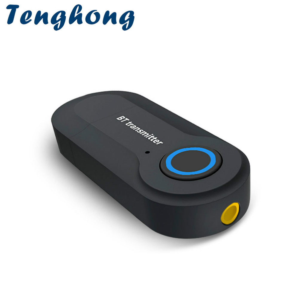 Tragbares Audio & Video Funkadapter Hart Arbeitend Tenghong Bluetooth Wireless Adapter Stereo 4,2 3,5mm Bluetooth Sender Für Tv Kopfhörer Lautsprecher Audio Bluetooth Empfänger