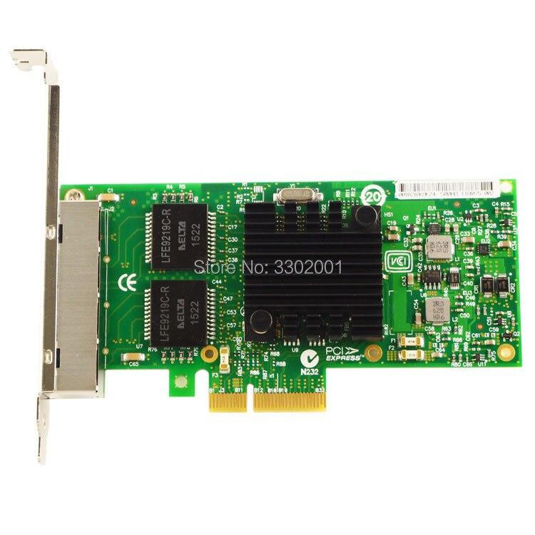 Intel I340-T4 E1G44HT E1G44HTBLK NIC Gigabit PCI-E Ethernet Server Adapter