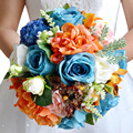 Wedding Flowers Bridal Bouquet Roses bouquet wedding accessories Bride Bouquet Artifical Flower bouquets for Wedding FE17