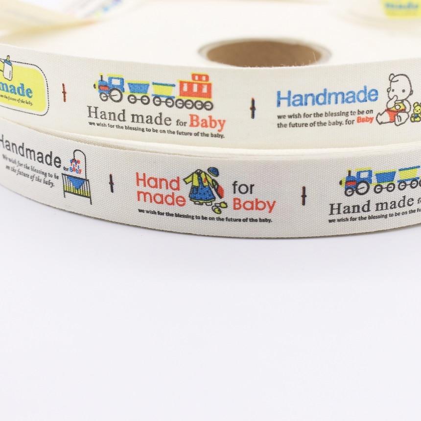 ჱHecho a mano para bebé algodón Cinchas decorativos de dibujos ...