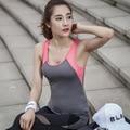 Chica Chaleco Del Verano Mujeres Tank Tops Sin Mangas de la Aptitud Deportiva Chaleco de Secado Rápido Camiseta Suelta Y25095