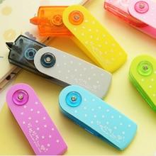 Cute Kawaii Korea Stationery Fresh Color 360-Degree Correction Tape Rotation Candy Corrector