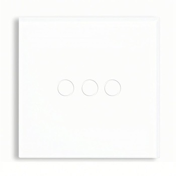 Bseed 240v Touch Light Switch 3 Gang 2 Way Touch Sensor Switch With Glass Panel White Touch Switch Eu Uk Us Au bseed 240v touch switch 1 to 3 gang touch switch dimming led with glass panel white black gold dimmer switch us au eu uk