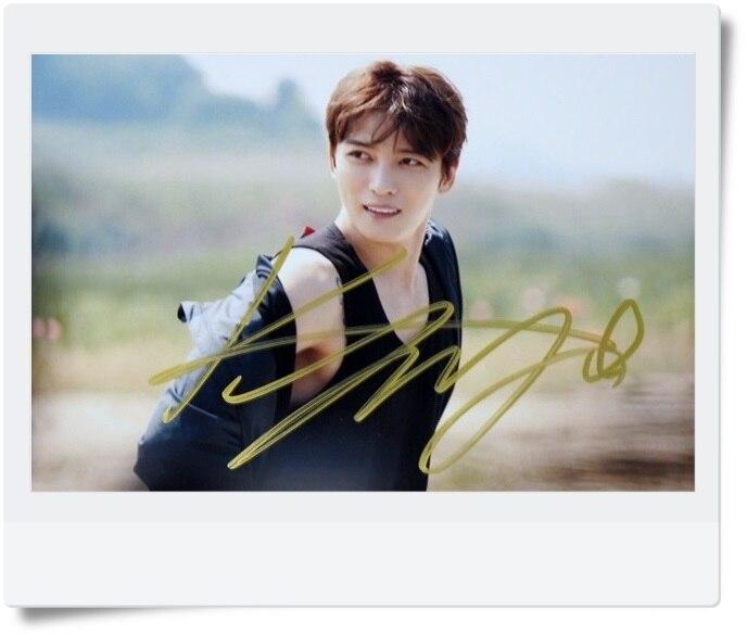 signed  KPOP JYJ Kim Jae Joong autographed photo 6 inches freeshipping 072017 got7 got 7 youngjae kim yugyeom autographed signed photo flight log arrival 6 inches new korean freeshipping 03 2017