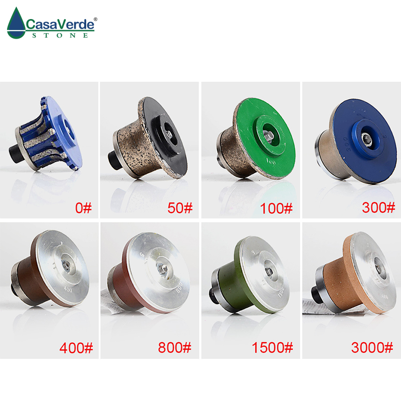 A30 diamond profiling wheels with M10 arbor diamond grinding wheels for granite and marble