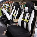 Sport Football Team Car Seat Cover Bwin Universal Sandwich Silk Fit Most 5 Seat and Steering Wheel Covers For Man 13pcs