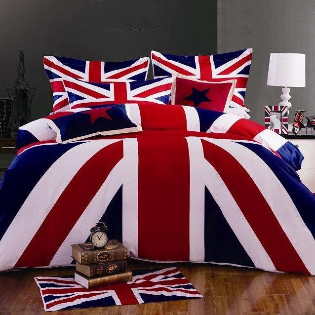 british flag furniture. 100 cotton fabric british and american flag bedding set union jack twinqueen furniture