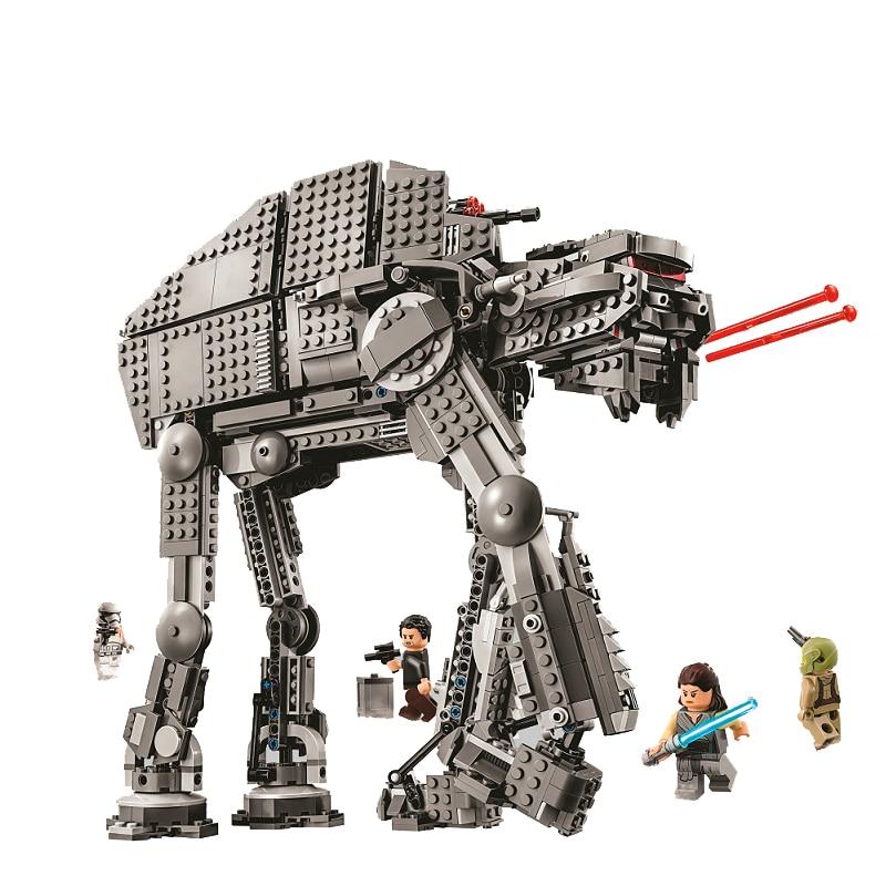 Bela 10908 Série Star Wars Premier Ordre Marcheur D'assaut Lourd Bloc De Construction 400 pièces Briques Jouets