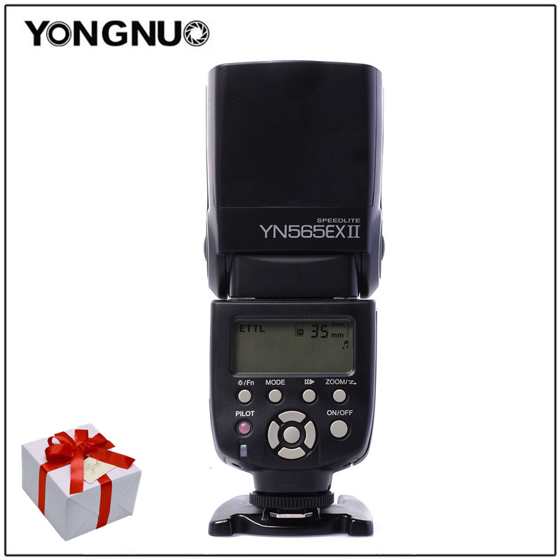 Yongnuo Speedlite YN565EX II C YN-565EX II Wireless TTL Flash Speedlite For Canon Cameras 500D 550D 600D 1000D 1100D XSi XTi T1i yongnuo yn468 ii ttl flash speedlite with lcd display for canon