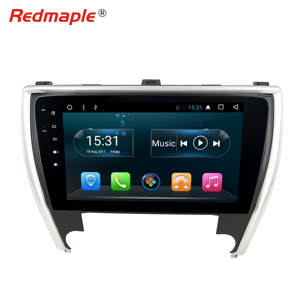 10.1 Octa base Android 8.1 Autoradio GPS Stéréo Pour Toyota Camry 2015 2016 2017 Auto Navigation Lecteur Multimédia headunit 2 GRAM