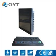 """15 """"endüstriyel dokunmatik ekran 1024×768 Rezistif dokunmatik ile pc celeron j1900 2.0 GHz hepsi bir pc"""
