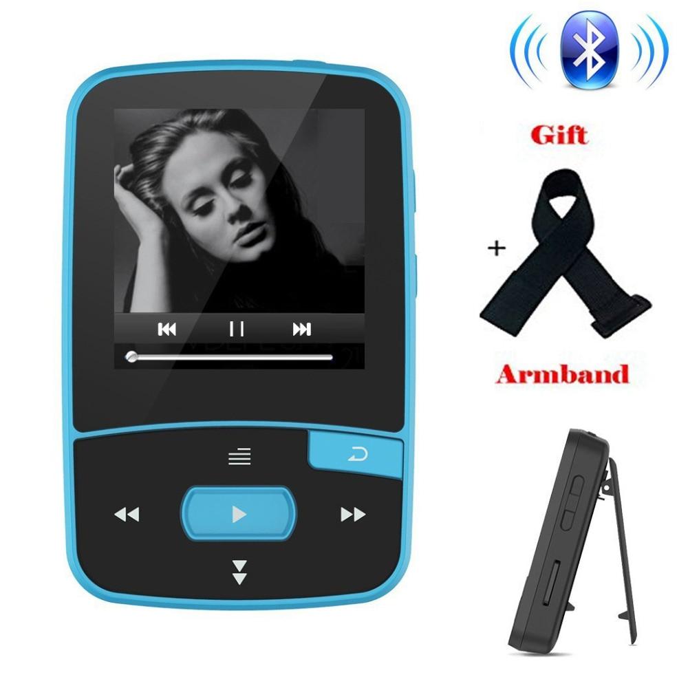 New Arrival Original RUIZU X50 Sport Mini Bluetooth MP3 Player