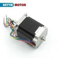 Dual shaft NEMA23 Stepper motor 76mm/ 3.0A /270 Oz-in CNC stepping motor for CNC Router RATTM MOTOR