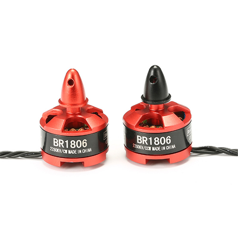 Hot New Racerstar 1806 BR1806 2280KV 1-3 S Moteur Brushless CW/CCW Pour QAV250 ZMR250 260 RC Multirotor