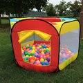 Carpa para Niños Casa de Juegos Al Aire Libre de Interior Fácil Plegable Piscina De Bolas Para Niños Jugar Cabaña Jardín Jugar Casona
