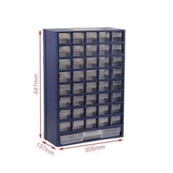 Caja de Herramientas, caja de piezas tipo cajonera de plástico, caja de almacenamiento, caja de componentes electrónicos de clasificación montada en pared de alta calidad