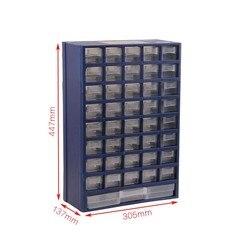 Strumento scatola di Plastica scatola delle parti di tipo cassetto scatola Di Immagazzinaggio parti a Parete classificazione scatola di componenti elettronici di alta qualità