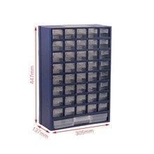 tool box Plastic parts box drawer type parts Storage box Wal