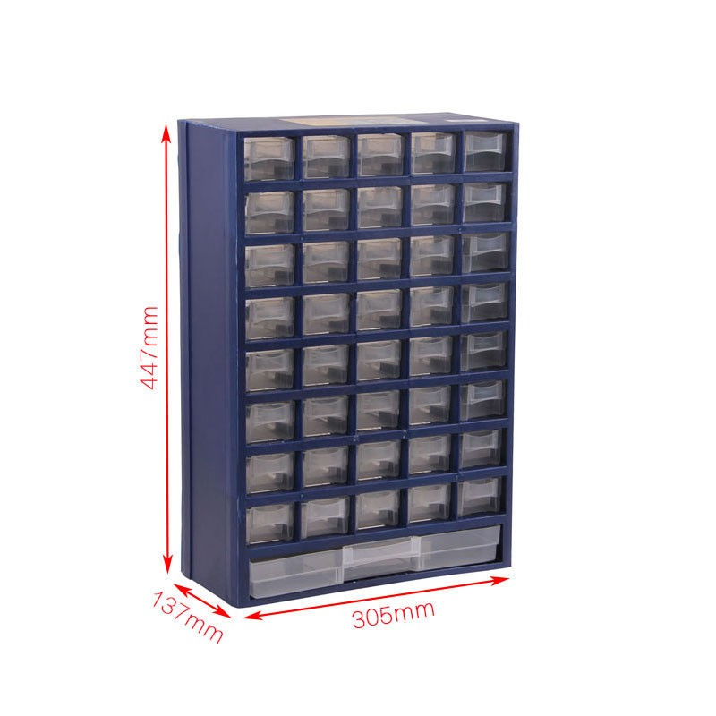 tool box Plastic parts box drawer type parts Storage box Wall mounted classification electronic component box high quality-in Tool Boxes from Tools    1