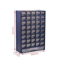 Boîte à outils en plastique type tiroir boîte de rangement de pièces, boîte murale classification boîte de composants électroniques de haute qualité