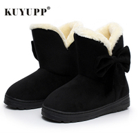 Women Winter Snow Boots Warm Short Plush Ankle Boots For Women Lace Up Winter Shoes Student